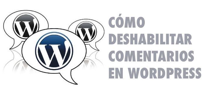 Cómo deshabilitar comentarios en todas las páginas de WordPress