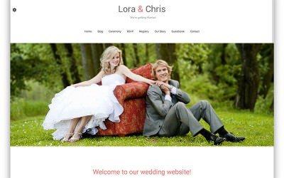 Web de boda: Plantillas gratuitas para WordPress