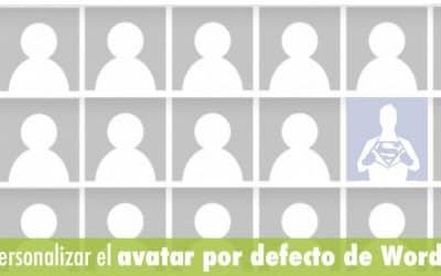 Cómo personalizar el avatar por defecto de WordPress