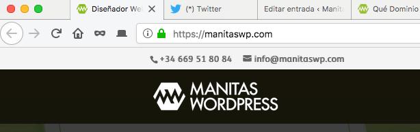 Domino web de marca